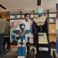 Visionario de la robótica peruana presenta su más reciente robot humanoide