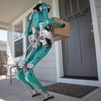 Las furgonetas sin conductor de Ford utilizarán robots con patas para hacer entregas