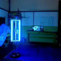 Robot peruano desinfecta con luz ultravioleta, diseño novedoso para combatir el covid-19