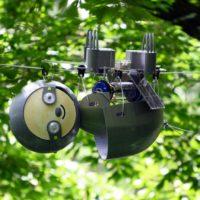 Robots en forma de osos perezosos
